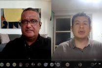 Prof. Rafael Vejarano y Dr. Saul Serna.