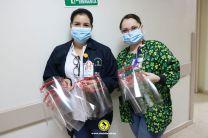 Donación al Hospital Obaldía.