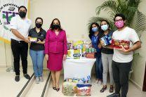 Centro de Estudiantes recibe donación.