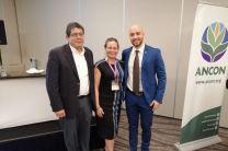 Dr. José Fabrega, Dra. Denise Delvalle, HD. Mgtr. Edison Broce.