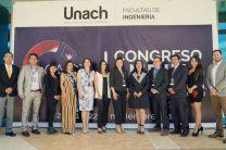 Dra. Dafni Mora con autoridades y conferencistas internacionales del CAICTI 2019.