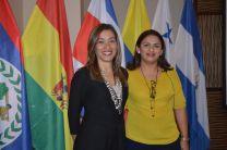 Dra. Kathia Broce y la Ing. Alejandrina Batista Expositoras