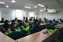 Grupo de investigadores y estudiantes de la UTP Chiriquí en Congreso Internacional.