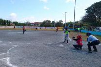 Toma del home plate entre el Centro Regional de Coclé y en el Centro Regional de Azuero