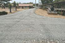 Avance de las construcción de las calles internas de UTP-Azuero.