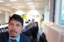 El Dr. Reinhardt Pinzón compartió las metas logradas por la contraparte panameña en el Proyecto.