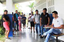 Estudiantes del IPT del Bisira.