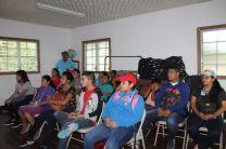 Los asistentes recibieron charlas sobre plantas medicinales y protección al ambiente.