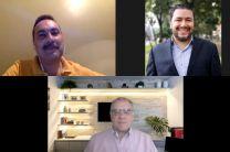 Alex Martínez, Ricardo Navarro y Luis Martínez (Comunidad de Práctica de Estructuras Liberadoras de Latinoamérica).
