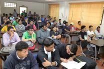 Docentes y Estudiantes de diferentes Facultades asistieron a las presentaciones.