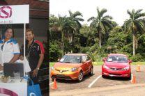 Expo autos con Banisi y COPAMA/MELO.