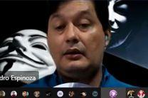 Mgtr. Leandro Espinoza, docente de la FISC, quien es Especialista en Tecnología de la Información y Ciberseguridad