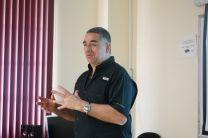 Dr. Eduardo Bringa, físico de la Universidad Nacional de San Luis Argentina Expositor