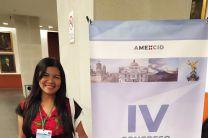 Dra. Nathalia Tejedor Flores expositora en el Congeso