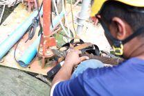 Bases de la Torre en proceso de evaluación para mantenimiento