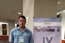 Ing. Jaime Gónzalez Gónzalez expositor por el CIHH de la UTP en el Congreso