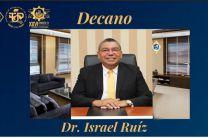 Dr. Israel Ruiz, Decano de la Facultad de Ingeniería Industrial.
