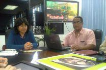 Autoridades y coordinadores de la FIM en el Centro Regional de Chiriquí.