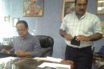 Autoridades y coordinadores de la FIM en UTP Chiriquí.