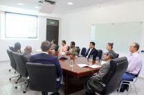 Delegación de First Quantum Minerals, Cobre Panamá y autoridades de la UTP.