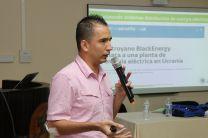 Diego Fernando González, Ingeniero Electrónico de la Universidad Nacional de Colombia.
