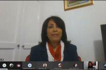 Docente coordinadora del evento, Damarys Cortés.