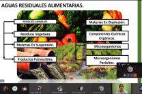 Temas abordados durante el evento: Aguas Residuales Alimentarias.