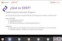 DEEP, se desarrollaron 10 proyectos finales, 8 presentados en equipos y dos de manera individual.