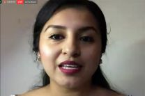 Beatriz Reyes, estudiantes de Ingeniería  Ambiental de la Universidad Tecnológica de Panamá (UTP).