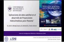 Presentación del Dr. José Fábrega, Director del CIHH de la UTP.