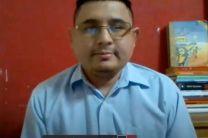 Expositor Dr. Edmanuel Cruz, Certificado como CCNA de Cisco, CompTIA Linux Plus y CompTia Server Plus.