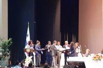 Recepción del premio al proyecto con mayor impacto social (Gala Científica 2019).