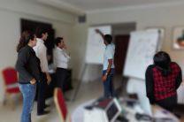Sesiones intensivas de trabajo durante el taller