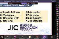 Presentación de calendario JIC 2021
