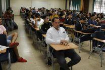 Jóvenes de UTP Veraguas, participan en Conferencia.