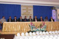 Autoridades de UTP participan de actividad.
