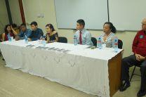 Autoridades, docentes y estudiantes participan de actividad.