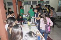 Concurrida participación de estudiantes.