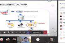 Presentación de la sustentación del Trabajo de Graduación del estudiante Diego Victoria.