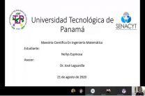 Sustentación de Maestría en Ingeniería Matemática.