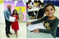 Niños del curso de Dibujo y Pintura del Verano 2020