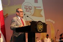 Discurso de Aniversario por el Rector Montemayor.