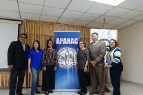 Directivos de APANAC y Docentes de la UTP.