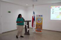 Licenciada Angela Buendía, Expositor.