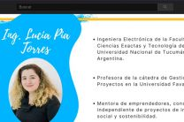 Ing. Lucía Pía Torres, expositora invitada.