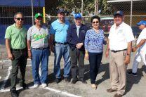 Autoridades Presentes durante el Acto de Inauguración del Campeonato de Softbol UTP 2018.