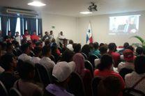 Estudiantes del Centro Regional de Coclé.