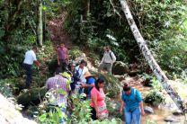 Estudiantes de la Maestría en Ing. Ambiental en Bocas del Toro.