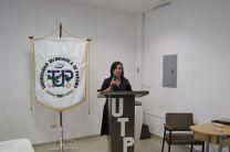 Ing. María Tejedor de Fernández, Subdirectora de Investigación, Postgrado y Extensión e iniciadora de la JIC en Coclé.