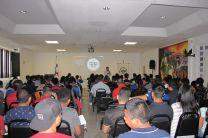 Estudiantes participantes del evento